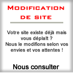 Modification de site