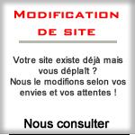 Modification de site